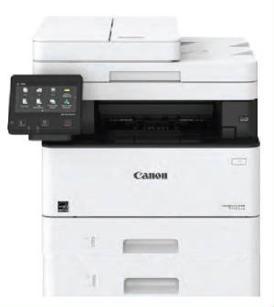 Canon Image Class MF426dw image with 500 sheet tray accessory