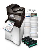 Samsung cxl-4195FW is a color MFP available in SLC, Utah.